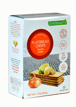 Goldbaums Flatbread Crisps - French Onion