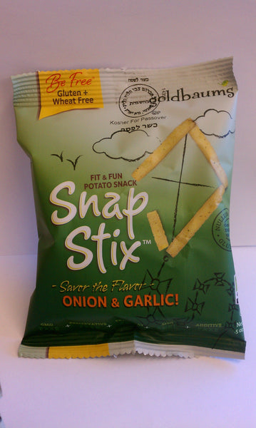 Goldbaums Snap Stix - Onion Garlic (6 Pack)