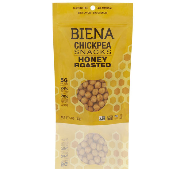 Biena Chickpea Snack - Honey Roasted