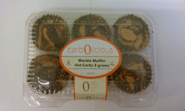 Carbolicious Marble Muffins (3 Pack)
