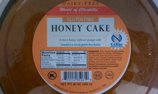 Chantilly Gluten Free Honey Cake