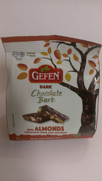 Gefen Dark Chocolate Bark W/ Almonds