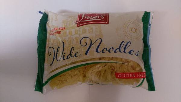 Liebers Egg Noodles - Wide