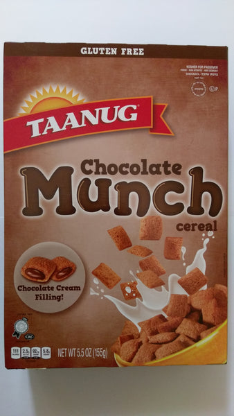 Taanug Gluten Free Chocolate Munch Cereal **NEW**
