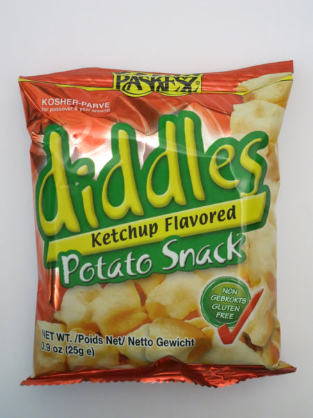 Paskesz Diddles Ketchup Potato Snack 3 Pack