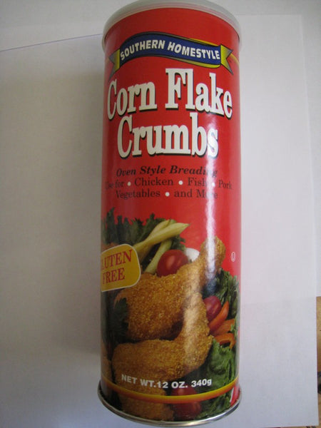 Southern Homestyle Gluten Free Corn Flake Crumbs
