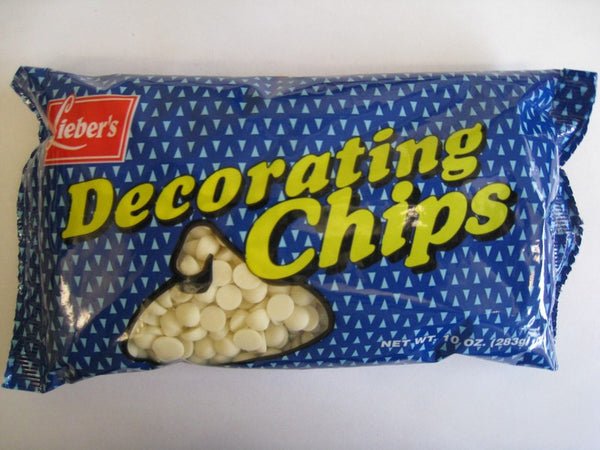 White Decorating Chips