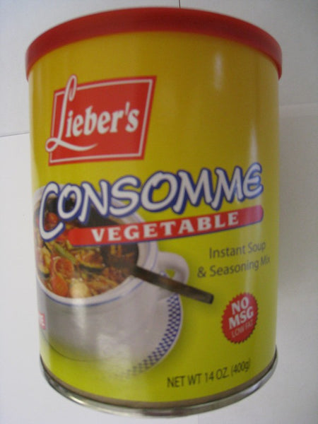 Liebers Vegetable Consomme - NO MSG