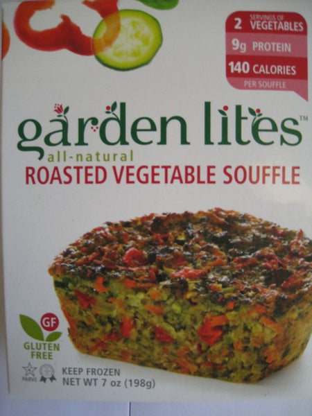 Garden Lites Roasted Vegetable Souffle