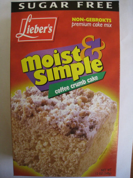 Coffee Crumb Cake Mix - Sugar Free