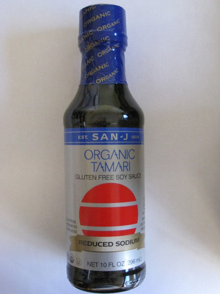 San~J Organic Tamari Soy Sauce { Reduced Sodium }