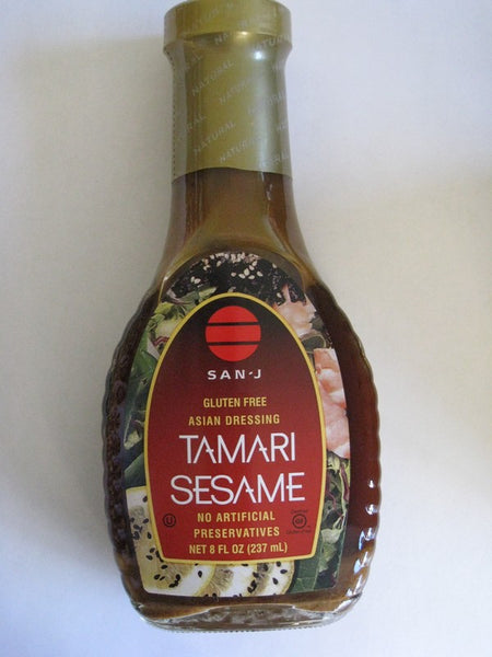 San~J Tamari Sesame Asian Dressing