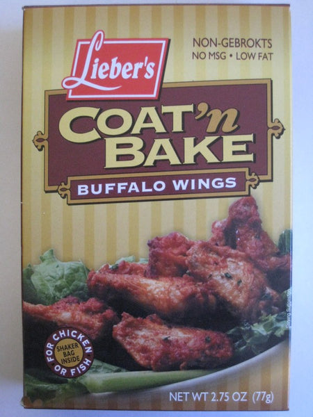 Liebers Coat-N-Bake  {Buffalo Wings}