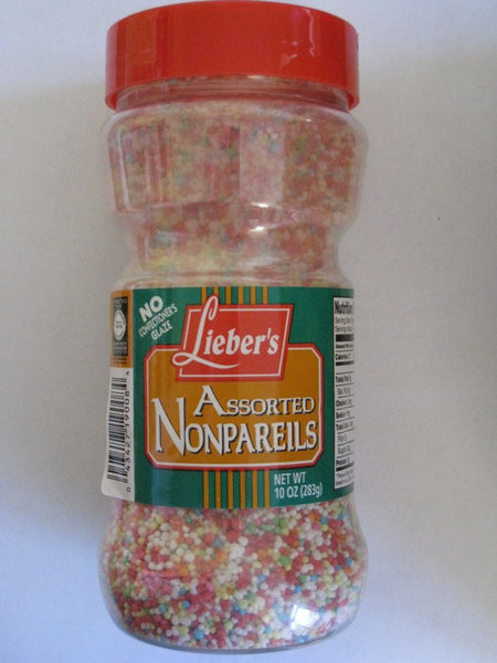 Lieber's Assorted Nonpareils