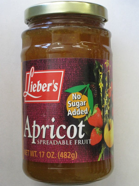 Lieber's Apricot Spreadable Fruit