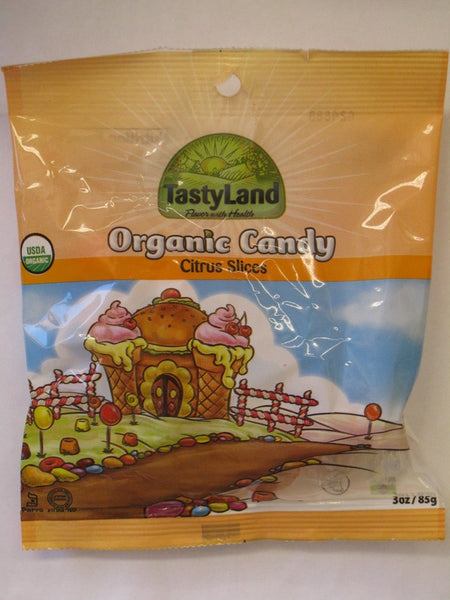 Organic Candy- Citrus Slices