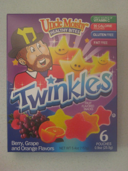 Uncle Moishy Healthy Bites Twinkles - Assorted