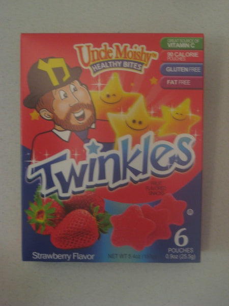 Uncle Moishe Healthy Bites Twinkles - Strawberry