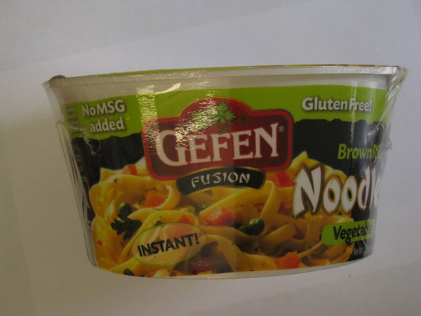 Gefen Gluten Free Instant Brown Rice Noodles Soup  - Vegetable