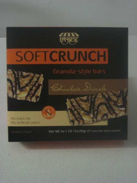 Paskesz Soft Crunch Chocolate Drizzle Granola Style Bar