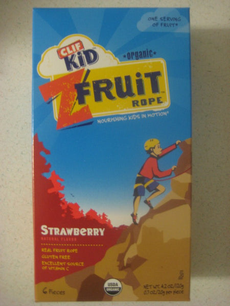 Clif Kids Organic Twisted Fruit - Strawberry