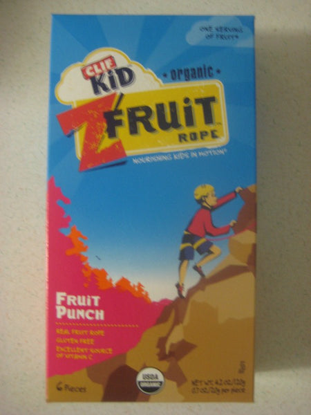 Clif Kids Organic Twisted Fruit Rope - Fruit Punch