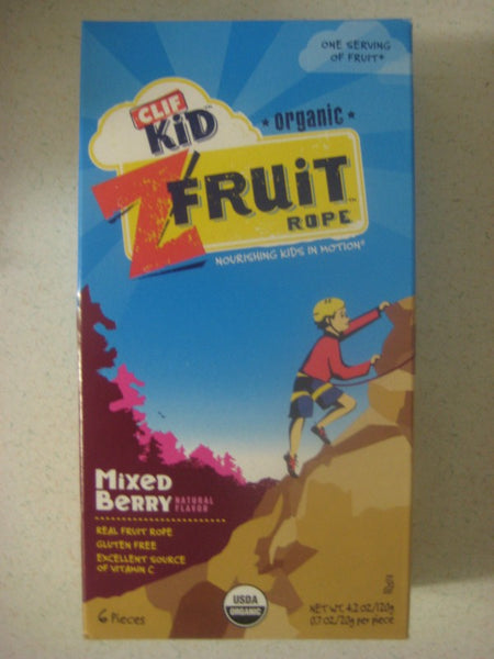 Clif Kids Organic Twisted Fruit - Mixed Berry