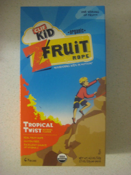 Clif Kids Organic Twisted Fruit - Tropical Twist