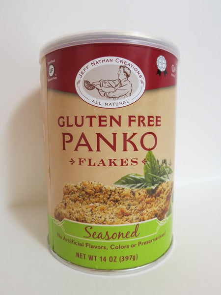 "Jeff Nathan Gluten Free ""PANKO"" Flakes - Seasoned"