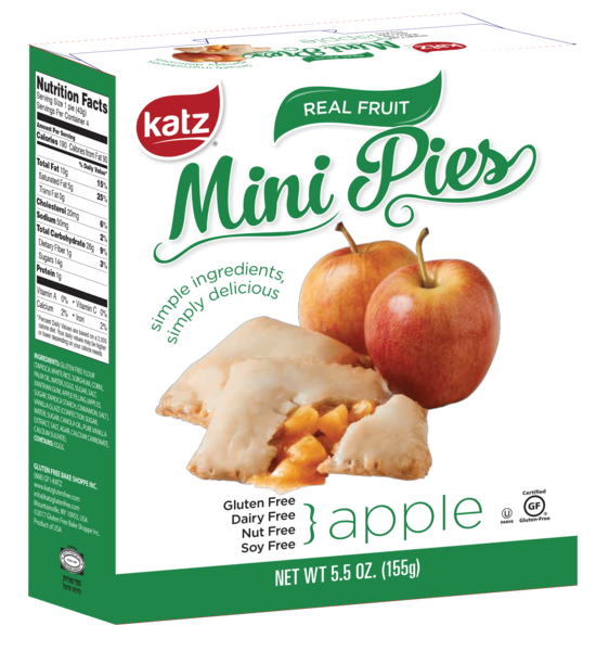 Katz Gluten Free Apple Pie Snaps **NEW**