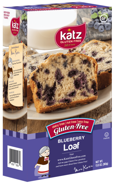 Katz Gluten Free Blueberry Loaf