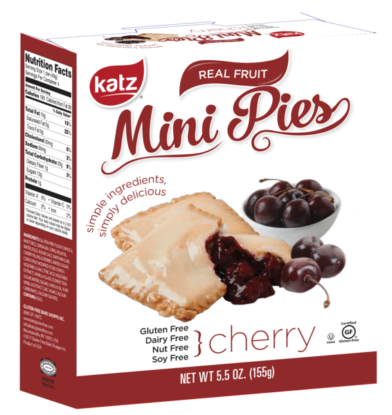 Katz Gluten Free Cherry Pie Snaps **NEW**