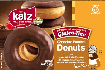 Katz Chocolate Frosted Doughnuts - Gluten Free