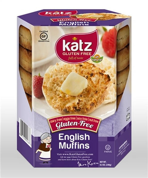 Katz Cinnamon Raisin English Muffins - Gluten Free