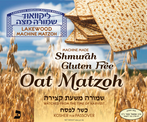 Gluten Free Oat Matzos Machine - Lakewood