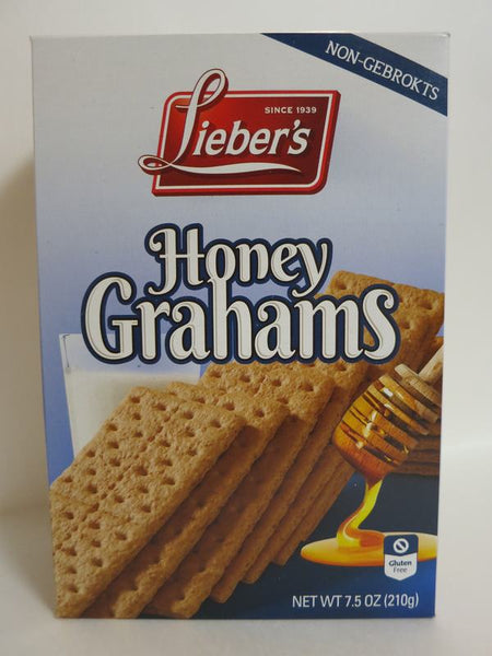 Liebers Gluten Free Honey Grahams