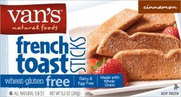 Van's Gluten Free French Toast Sticks