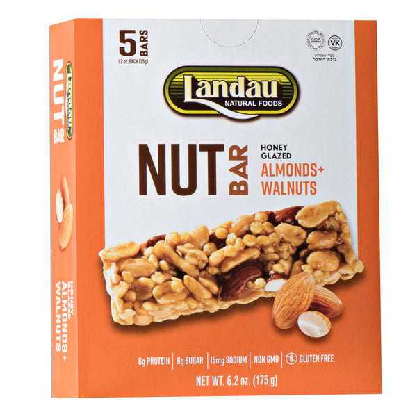 Landau Honey Glazed Nut Bars Almond & Walnuts