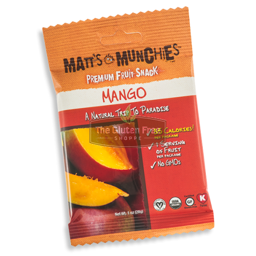 Matts Munchies Mango Fruit Snack   * 3 Pack *