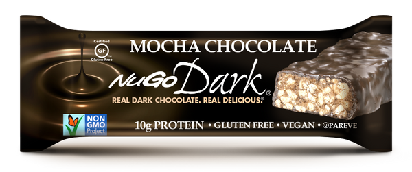 NuGo Dark Mocha Chocolate Bar
