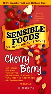Sensible Foods Cherry Berry Fruit Snack