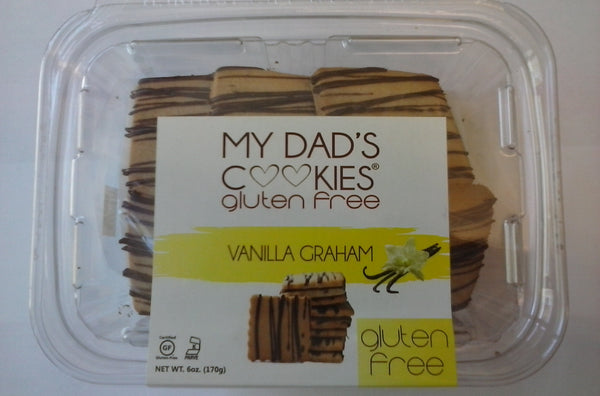 "My Dad's Cookies Vanilla Graham Cookies "" EGG FREE """