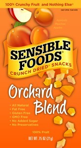 Sensible Foods Orchard Blend Fruit Snack