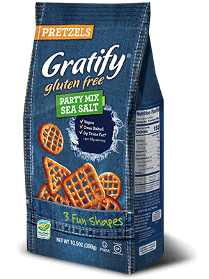 Gratify Gluten Free Party Mix - Sea Salt