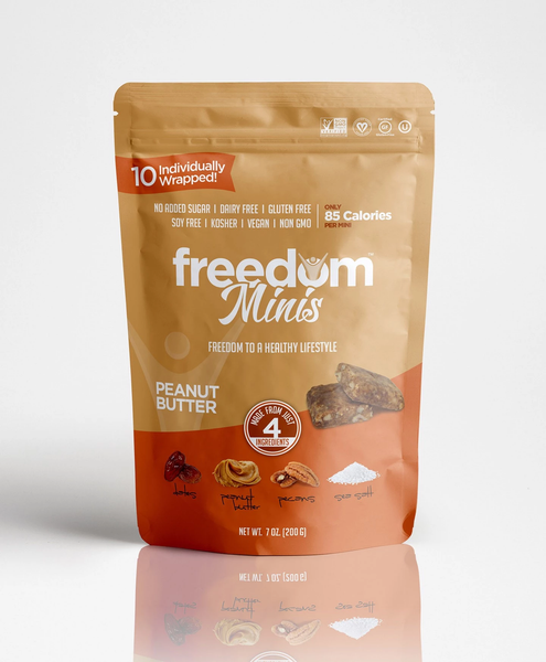 Freedom Bar Peanut Butter Minis 7oz