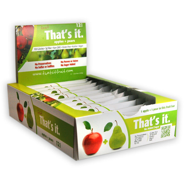 Thats it - Apple & Pear Fruit Bar