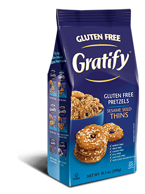 Gratify Gluten Free Sesame Seed Thins