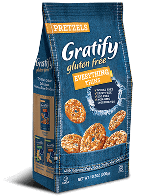 "Gratify Gluten Free ""Everything"" Thins"