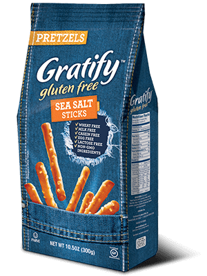 Gratify Gluten Free Sea Salt Pretzel Sticks