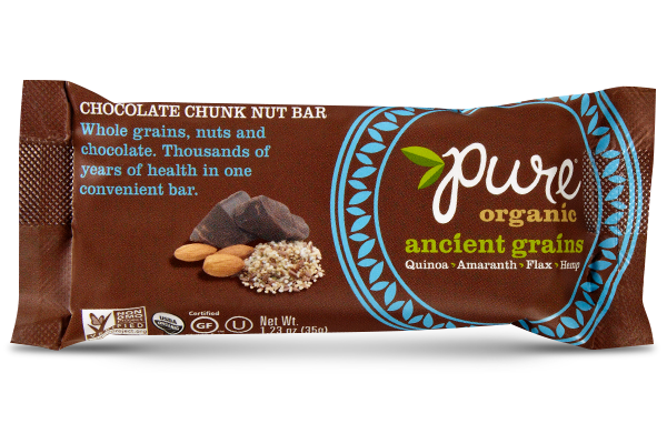"Pure Organic ""Ancient Grains"" Chocolate Chunk Bar"